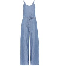 Cotton denim jumpsuit