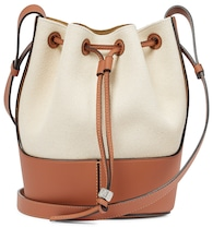 Balloon Small canvas shoulder bag