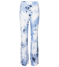 Freya printed wide-leg pants