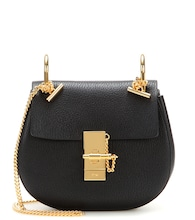 Drew Mini leather shoulder bag