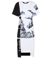 Printed cotton-jersey dress