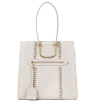 The Tall Story Knot leather tote