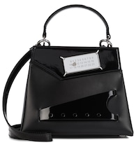 Snatched Small leather shoulder bag