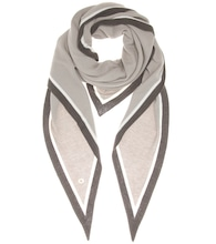 Summer Twice cashmere and silk scarf