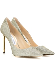 Romy 100 metallic pumps