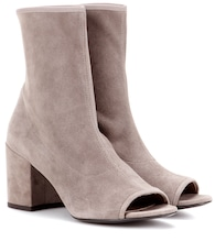 Bigkoko Bingo leather peep-toe ankle boots