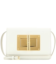 Natalia Small leather shoulder bag