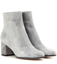 Margaux Mid suede ankle boots
