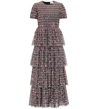 REDValentino sequined maxi dress
