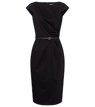 Zic belted cotton midi dress
