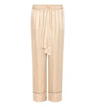 Kendal silk trousers