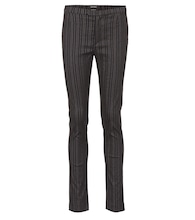 Kenton striped wool-blend pants
