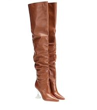 Olivia leather over-the-knee boots