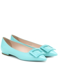 Gommetine Ball patent-leather ballet flats