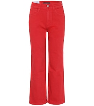 W4 Shelter high-rise wide-leg jeans
