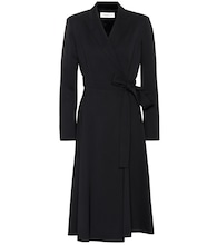 Fantino wool wrap dress