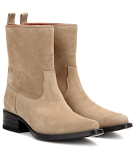 Exclusivité mytheresa.com : Bottines en daim Galane
