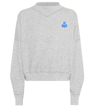 Madilon cotton-blend sweatshirt