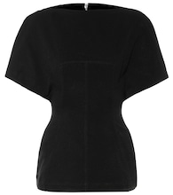 Judith cotton-blend top
