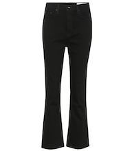 Bella high-waisted flare jeans