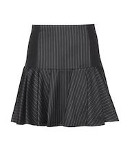 Pinstriped skirt