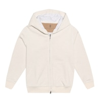 Cashmere and cotton hoodie