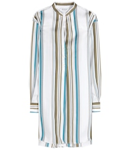 Alicia striped cotton and silk shirt