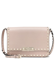 Valentino Garavani Rockstud Satchel leather shoulder bag