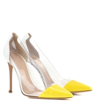 Exclusive to mytheresa.com – Plexi patent leather and transparent pumps