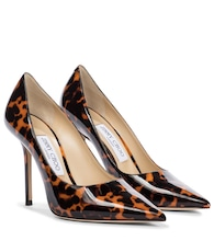 Love 100 patent leather pumps