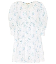 Mini Bex floral cotton minidress