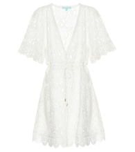 Barrie lace cover-up