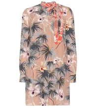 mytheresa.com online exclusive printed silk dress