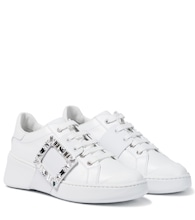 Viv Skate Strass leather sneakers