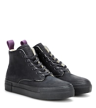 Odyssey leather high-top sneakers