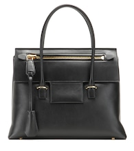 Icon Large leather tote