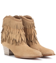 Pocahontas Cowboy 45 suede ankle boots