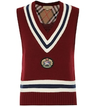 Wool and cashmere vest