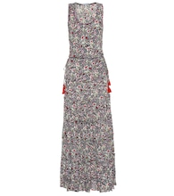 Bety floral georgette maxi dress