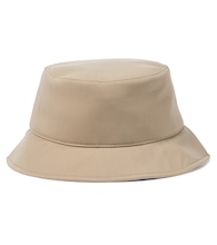 Cotton-blend bucket hat