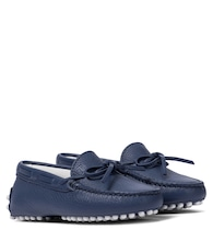 Junior Gommino leather moccasins