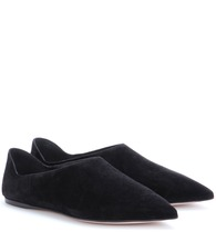 Slip-on suede loafers