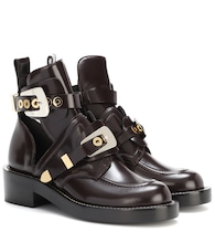 Ceinture leather derby boots