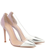 Pumps Plexi 105 aus Veloursleder