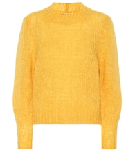 Ivah mohair and wool-blend sweater