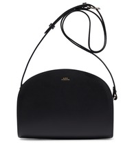 Demi-Lune leather shoulder bag
