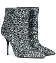 Ankle Boots Pierre 95 aus Glitter