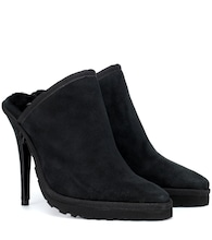 X UGG LS1 suede mules
