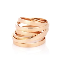 Berbere Technical 18kt rose gold ring