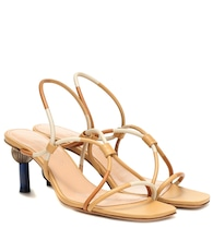 Olbia leather sandals